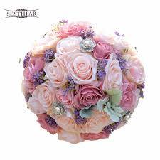 silk wedding bouquets silk wedding bouquet artificial home party deco flowers bridal