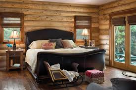 woolwich maine log home cottage by precisioncraft