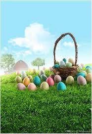 easter egg basket 2018 vinyl photography background for kids easter eggs basket
