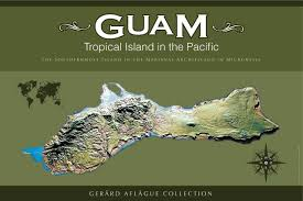 Map Of Guam Guam Gifts Guam Products Island Of Guam Illustrated Map In