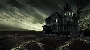 wallpapers halloween hd haunted house desktop wallpaper wallpapersafari