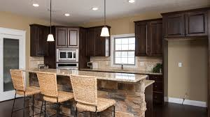 kitchen travertine backsplash kitchens harlow builders inc