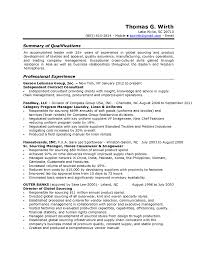 Sample Resume For Supply Chain Management by Sourcing Manager Resume Free Resume Example And Writing Download