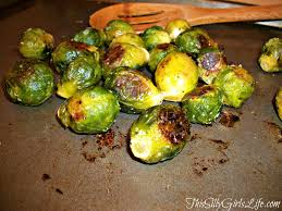 ina garten brussel sprouts pancetta ha who knew it would work from frozen veg too roasted