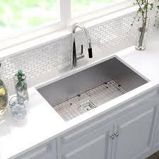 Stainless Kitchen Sink by Paxton Undermount Single Bowl Stainless Steel Kitchen Sink