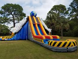 space shuttle water slide south florida bounce