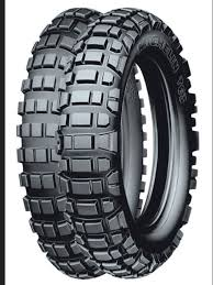 Adventure Motorcycle Tires Michelin T63 Dual Sports Motorcycle Tyres Enduro Dual Sport
