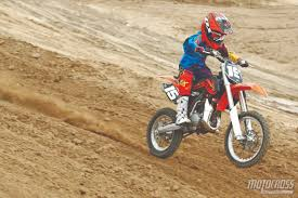 best 2 stroke motocross bike motocross action magazine mxa u0027s 85cc shootout tc85 vs kx85 vs