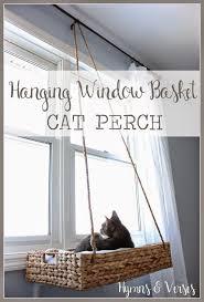 Ez Hang Hammock Chair Easy Diy Idea Box By Sandra Hellewell Cat Perch Simple Diy And