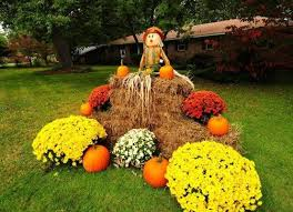 fall front yard decorations that will fascinate you
