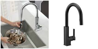 Kitchen Faucet Design by Bathroom Exciting Silver And Black Moen Faucets For Modern