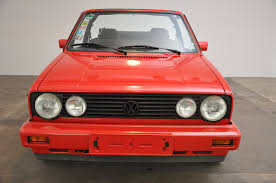1992 vw golf 1 sport line cabriolet classic motor sales