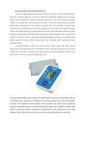 Alat Kalibrasi Tensimeter laporan praktikum diagnostik tensimeter digital