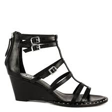 black sandals shop black sandals at ash footwear peace sandals in suede now online