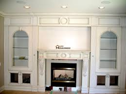 fireplace mantels custom millwork wainscot paneling coffered