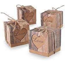 wedding gift boxes gold ribbon wedding favor boxes home kitchen