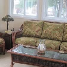 Wicker Sofa Cushions Furniture Attractive Wicker Sofa For Home Furniture U2014 Jecoss Com
