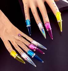 rainbow dip u2013 nail gloves u2013 unicorns glitter