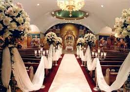 best wedding decoration websites extra long white artificial silk