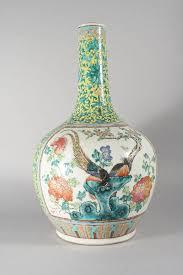 canton porcelain a 19th century canton porcelain famille jaune vase