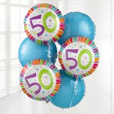 birthday balloon bouquets 50th birthday balloon bouquet