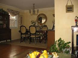 Faux Color Washing - faux color wash diningroom with custom stenciled crown molding