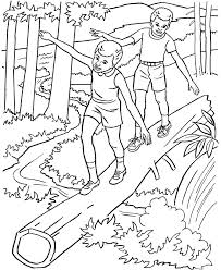nature coloring pages kids nature coloring pages