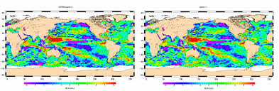 World Map Of Seas by Nasa Ocean Surface Topography Mission Jason 2 Begins Mapping