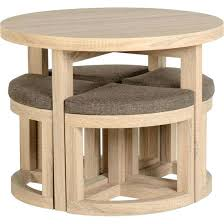 Space Saver Dining Set Table Four Chairs Furniture Space Saving Table And Chairs For Kitchens Saver