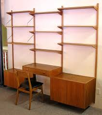 Desk Wall System 7 Best Wall Units Images On Pinterest Wall Units Teak And Danishes