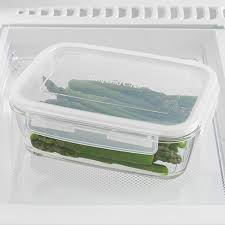 Cup Storage Containers - 5 cup leakproof glass container shop pampered chef us site