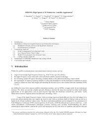 mhoms high speed acm modem for satellite applications pdf
