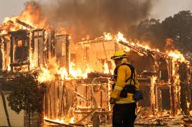 Wildfire Shot Drink by Public Calamity U0027 As California Wildfires Leave Apocalyptic Scenes