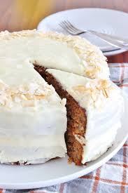 carrot cake with cheese frosting gf thoroughly nourished