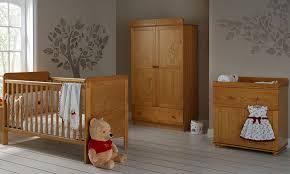 Pine Nursery Furniture Sets Obaby Winnie The Pooh 3 Roomset Country Pine Free