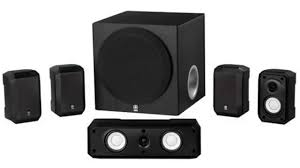 home theater box yamaha ns sp1800bl 5 1 channel home theater speaker system youtube