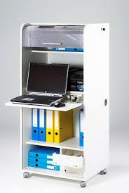 bureau secrétaire informatique blanc elissa bureau bureau