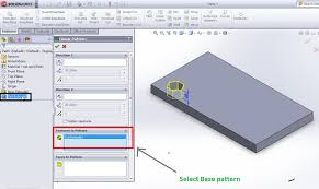 solidworks linear pattern how to use solidworks linear pattern feature tool tutorials