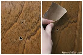 Repair Kitchen Cabinet How To Cover Old Hardware Holes