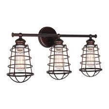industrial bathroom vanity lights houzz
