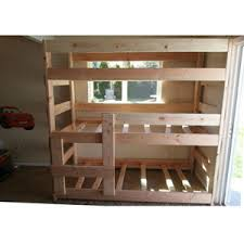 Wooden Bunk Beds Wooden Bunk Beds The Premier Heavy Duty Solid Wood Triple Bunk
