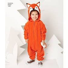Raccoon Halloween Costume Sewing Pattern Toddlers Plush Animal Costumes Halloween