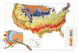 National Temperature Map Usda Unveils New Plant Hardiness Zone Map Usda Ars