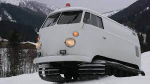 volkswagen bus 2014 1966 vw microbus snowcat