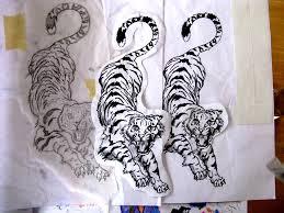 tiger phases by 13 pretty pistols on deviantart
