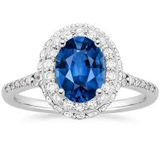 colored engagement rings gemstone engagement rings brilliant earth