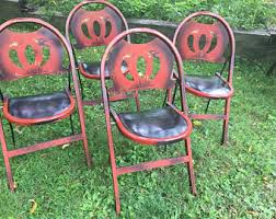 Stakmore Folding Chairs Vintage Stakmore Etsy