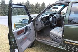 jeep grand 1995 limited 1995 jeep grand interior pictures cargurus