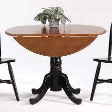 Drop Leaf Pedestal Table Creations Ii Drop Leaf Pedestal Table Rotmans Kitchen