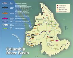 Columbia River Map Law Legislation And Environmental Justice Columbia Basin Fish